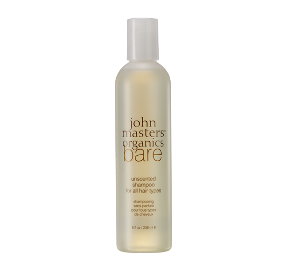 johnmasters bare unscented shampoo