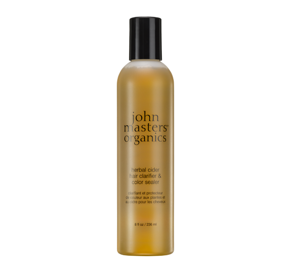 johnmasters - herbal cider hair clarifier color sealer