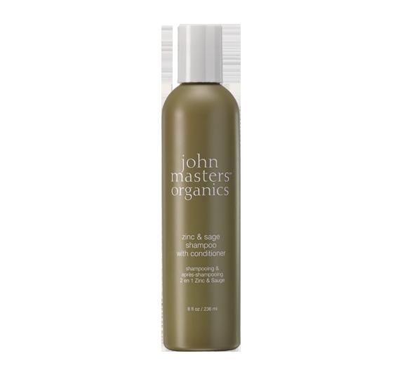 johnmasters zinc sage shampoo